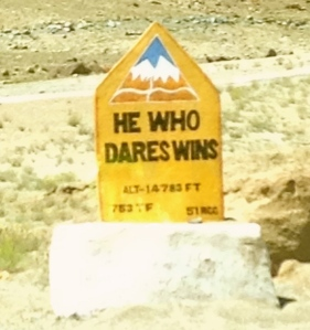 He Who Dares Wins