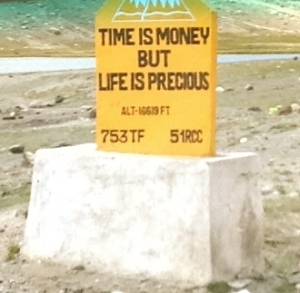 Time Is Money But Life Is Precious