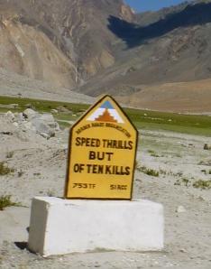 Speed Thrills But Often Kills