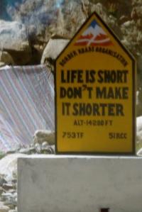 Life Is Short Don't Make It Shorter