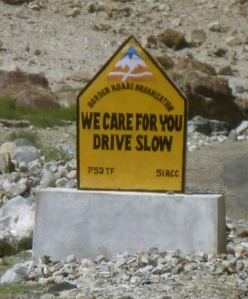 We Care For You Drive Slow