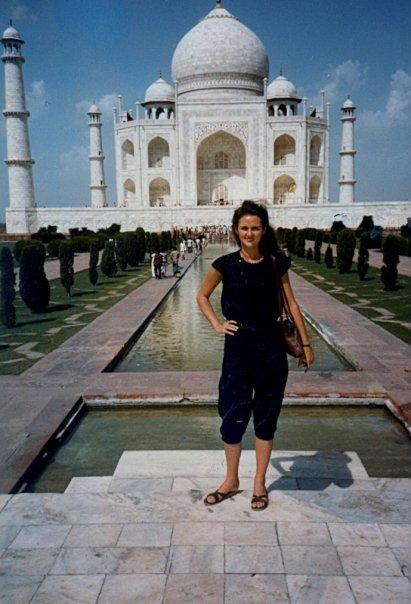 Mom-Taj Mahal