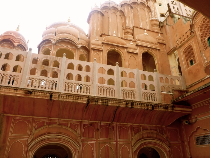 The Pink (definitely, actually orange) City of Jaipur